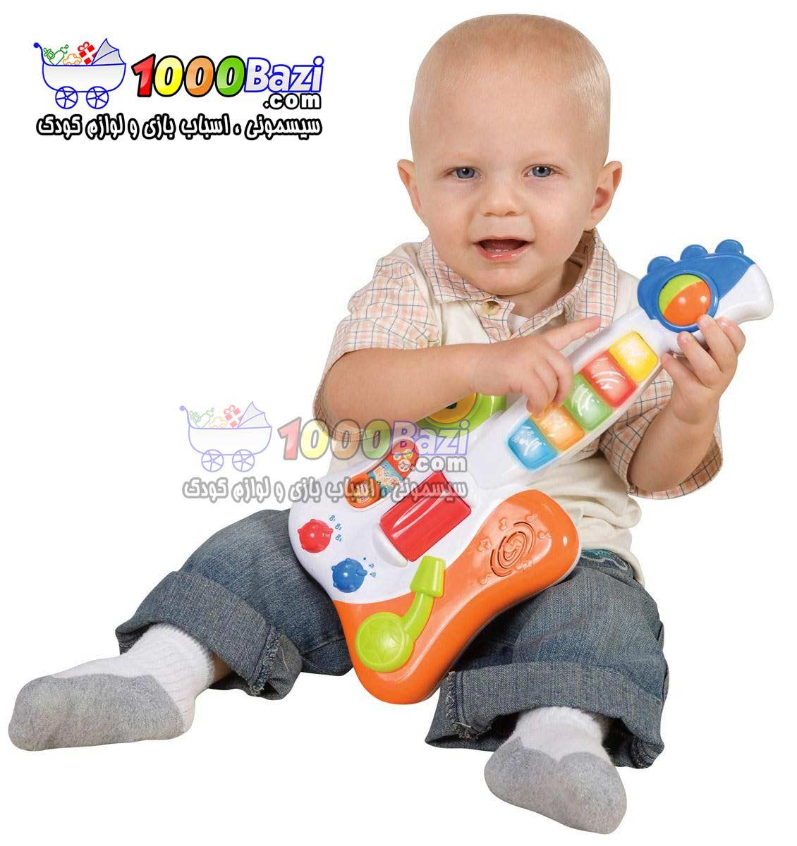 اسباب بازی گیتار موزیکال کودک Winfun