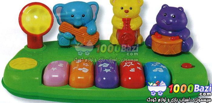 اسباب بازی موزیکال پیانو حیوانات Winfun