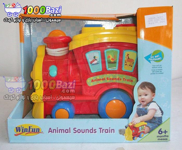 اسباب بازی قطار موزیکال کودک Winfun