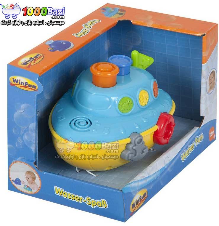اسباب بازی قایق موزیکال کودک Winfun