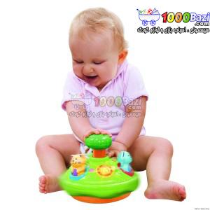 اسباب بازی گردونه چرخشی حیوانات موزیکال کودک Winfun
