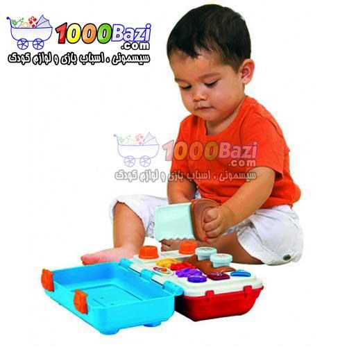 اسباب بازی پسرانه جعبه آچار موزیکال کودک Winfun