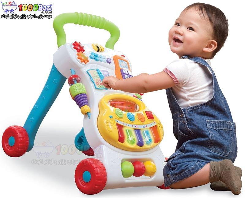 اسباب بازی واکر موزیکال کودک Winfun
