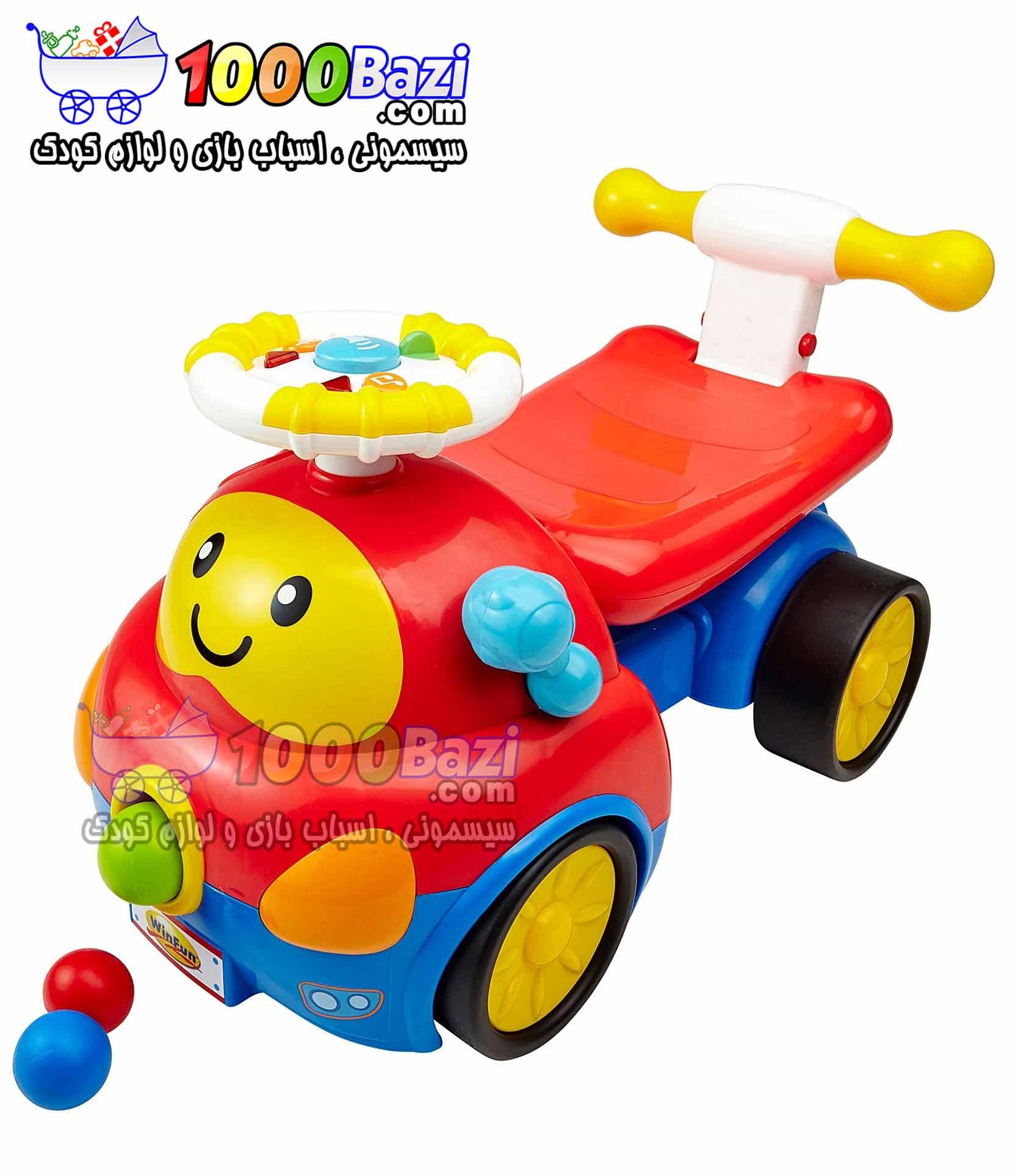 اسباب بازی واکر ماشین کودک Winfun