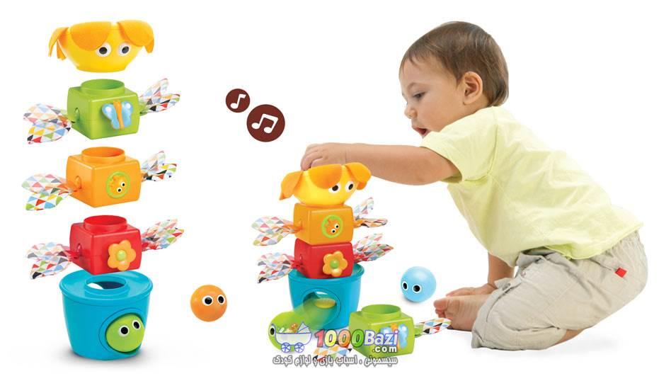 اسباب بازی پازل آموزشی موزیکال Yookidoo