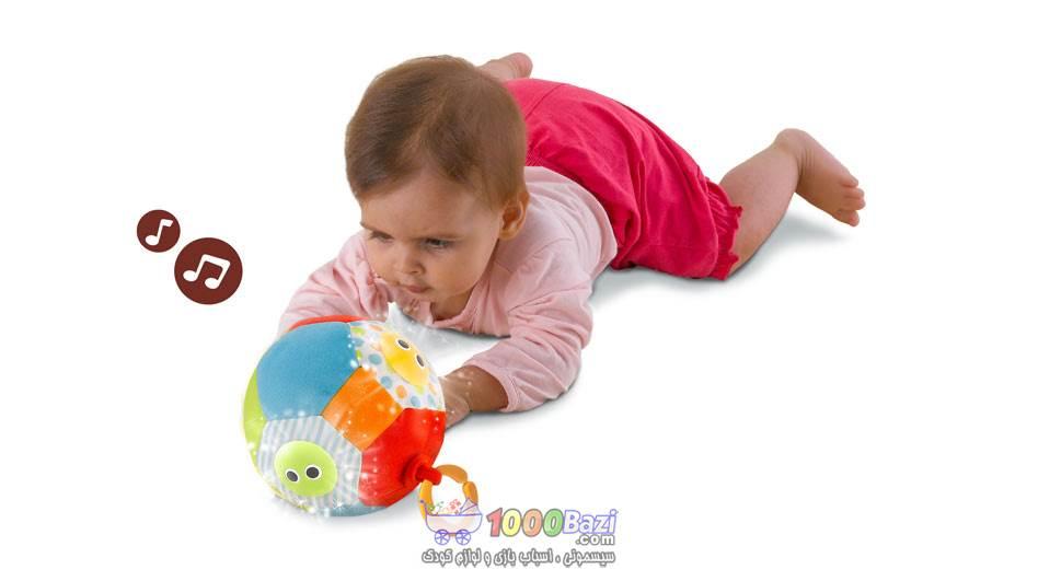 اسباب بازی توپ موزیکال پارچه ای Yookidoo